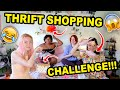 SO YOU THINK YOU CAN THRIFT?!? | EPISODE 1 | THRIFT SHOPPING CHALLENGE!!!