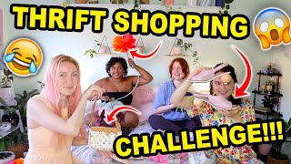 SO YOU THINK YOU CAN THRIFT?!?   EPISODE 1   THRIFT SHOPPING CHALLENGE!!!