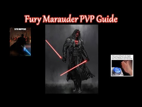 SWTOR: Fury Marauder PVP Guide Patch 5.4a