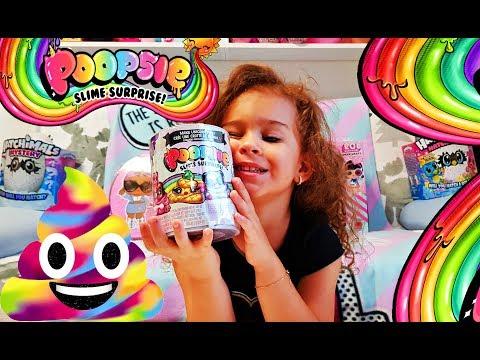 Poopsie Slime Surprise | Magical Unicorn Scented Poop SLIME kit