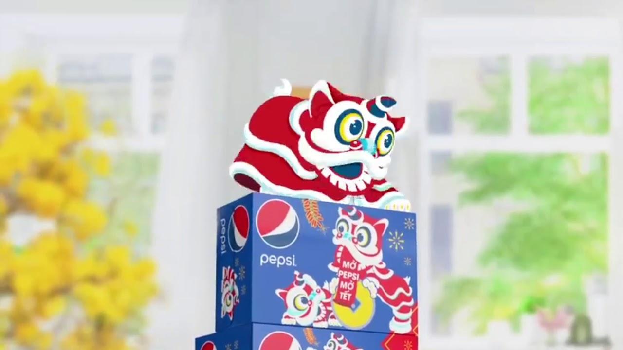 TVC Quảng Cáo Nước Ngọt Pepsi Mới – Khuyến Mãi Pepsi Tết 2020 – Rước Lân Đón Lộc