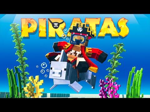 TODOS ME ENVIDIAN POR ESTO!! MINECRAFT PIRATAS #25