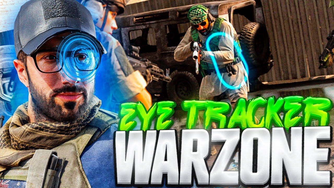 JUGANDO WARZONE con el EYE TRACKER!