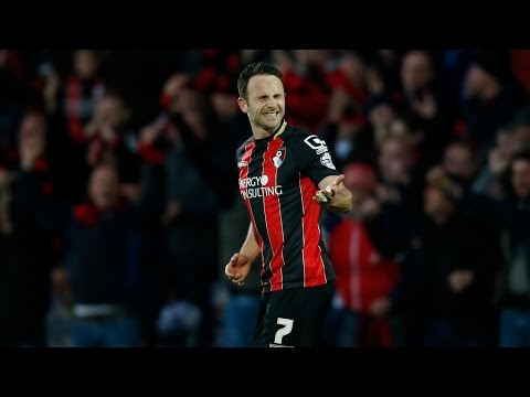 All angles covered | Marc Pugh puts AFC Bournemouth ahead against Bolton Wanderers