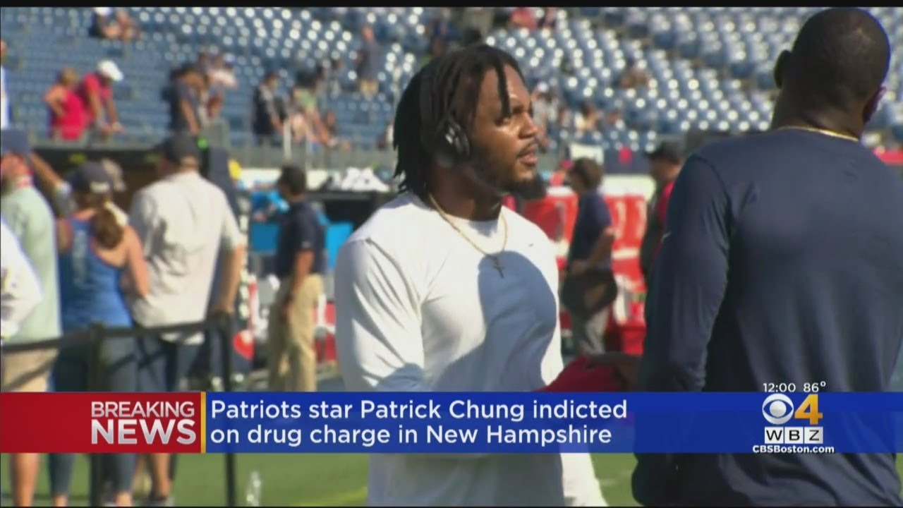 Patrick Chung indicted for felony cocaine possession
