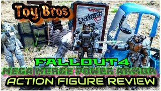 fallout gamestop exclusive glyos system power armor toy review