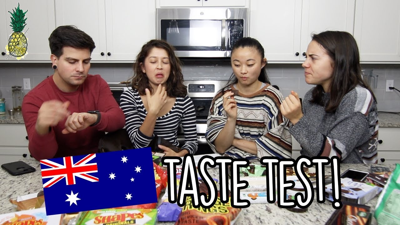 Americans Try Australian Snacks!