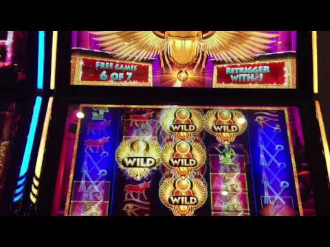 IGT game Valley of the Gold Egyptian