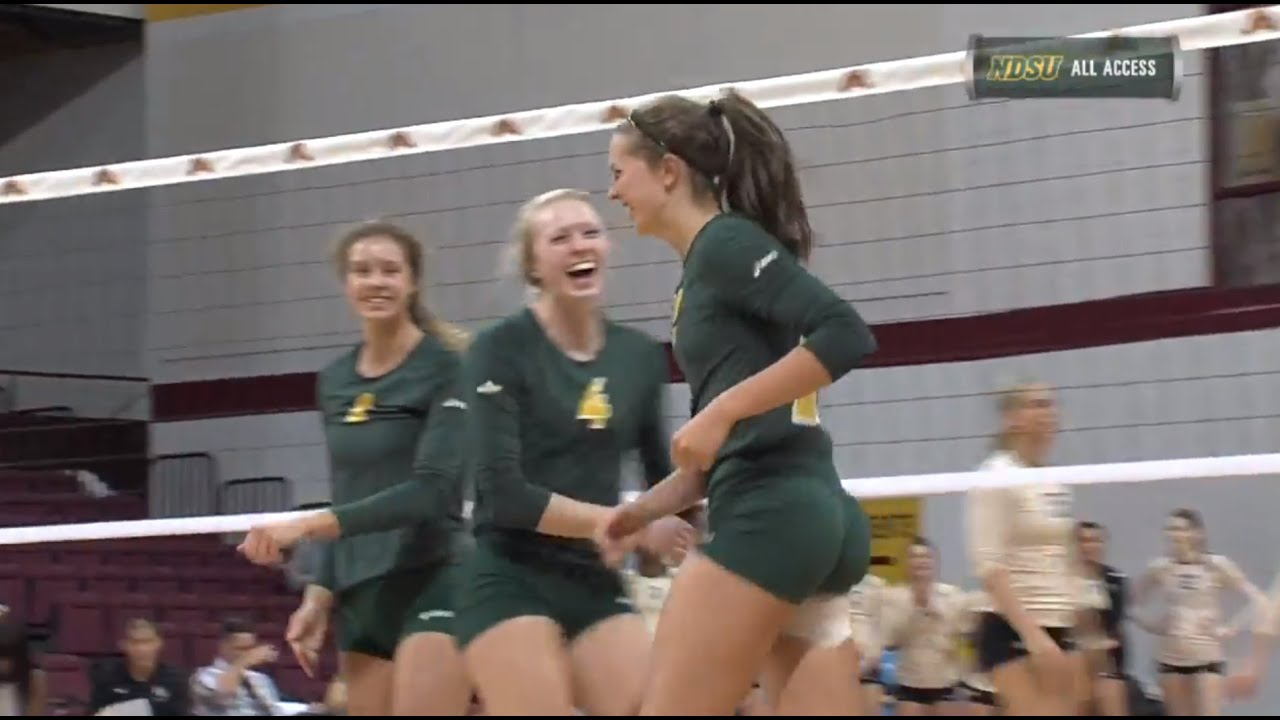 774eac3a3b7a9e NDSU Volleyball Turns Back UCF 3-1 at Minnesota s Diet Coke Classic ...