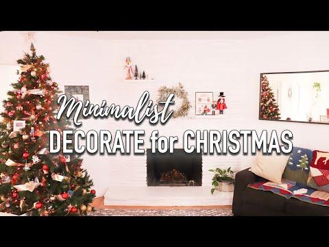 Minimalist Christmas Decor - Decorating For Christmas - Minimalist Family Home