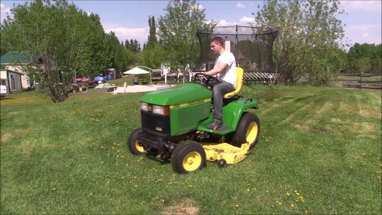 John Deere 425 Lawn Tractor | John Deere Lawn Tractors: John