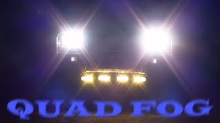 QUAD FOG ----- Jackaroo Under-hung Fog Lights