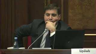 Արման Բաբաջանյանի հարցը Անդրանիկ Քոչարյանին