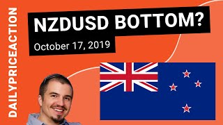 NZDUSD Bottom in Place? | Forex Strategy for October 17, 2019