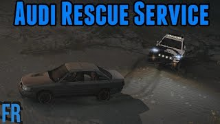 Audi Rescue Service ! - Spin Tires Mudrunner Mods