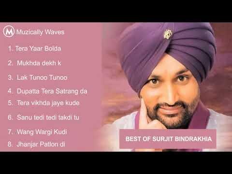 Surjit Bindrakhia Hit Songs | Punjabi All Time Hit Songs | Surjit Bindrakhia Audio Jukebox
