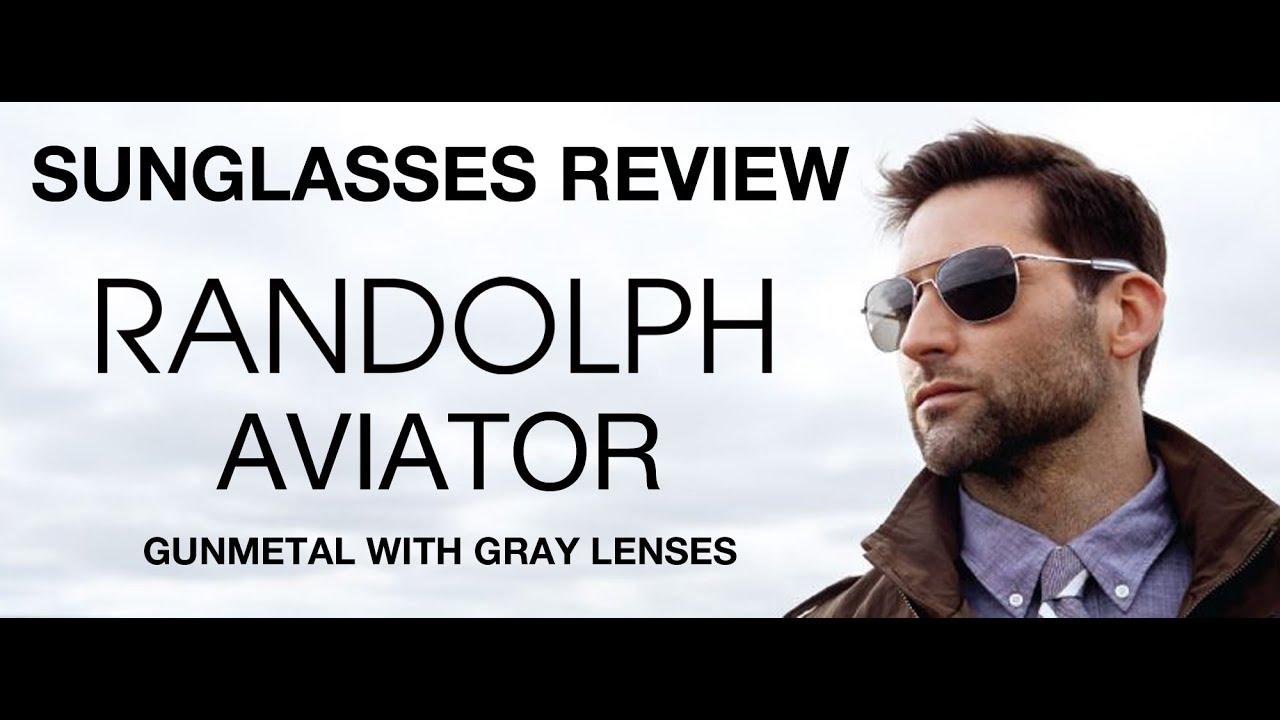 Aviator The With ReviewGunmetal Randolph LensesAf045 Af145 New Gray Sunglasses Af095 SGzVUqMp