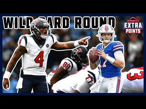 Houston Texans take on the Buffalo Bills in the 2019 NFL Playoff Wild Card Round | Extra Points