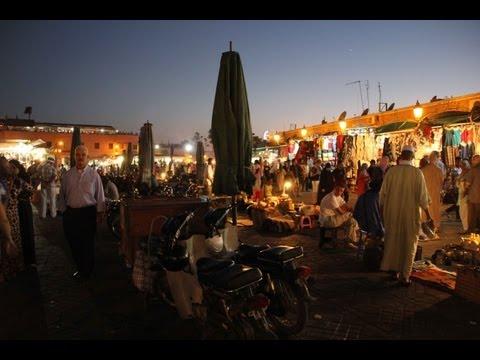 Jemaa El-Fna by night