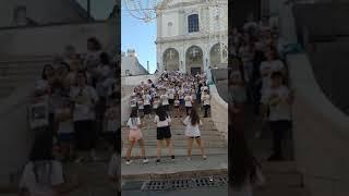 Flashmob per la pace