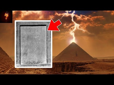"""Stela"" Explaining Sphinx & Pyramids Found In Giza?"