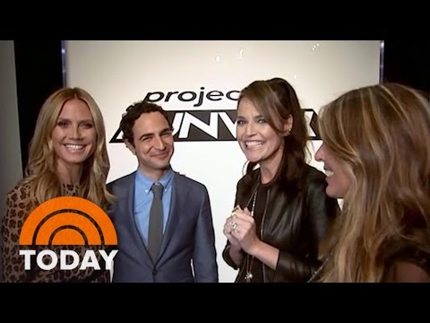 Savannah Guthrie's Dream Comes True As 'Project Runway' Guest Judge | TODAY