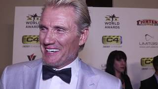 Dolph Lundgren Might Prefer the Old School -- But He Likes Conor McGregor | MMA Awards
