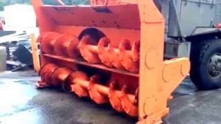 oshkosh wt 2206 snowblower   for sale   online auction