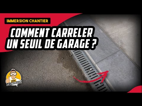 Comment Carreler Un Seuil De Garage En Carrelage Dalle Cerame 2cms