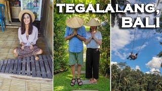 """Cafea de """"pisica"""", orezarii si mancare locala! Oare le-a placut?   Ubud, Bali"""