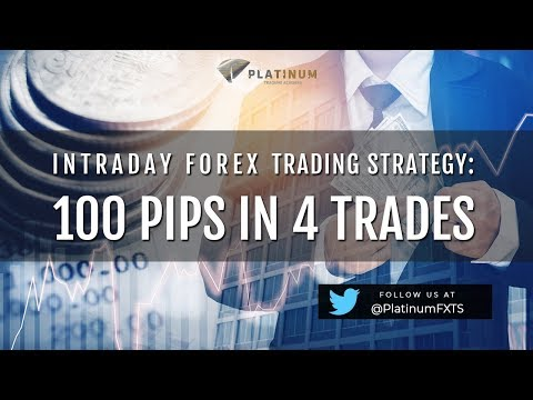 The Best Forex Intraday Trading Techniques   100 Pips In 4 Trades