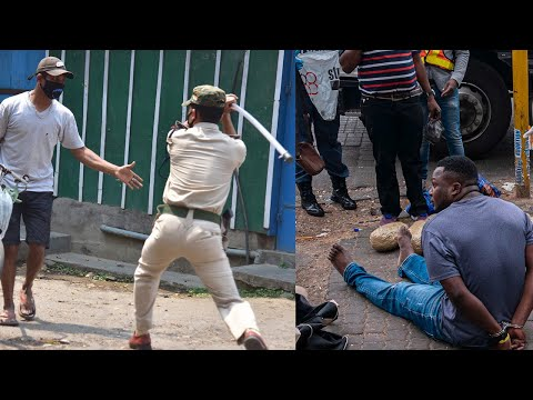 Coronavirus: Videos emerge online of police brutality amid lockdown around the world