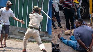 Coronavirus: Videos emerge online of police brutality amid lockdown around the world