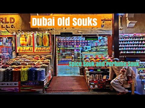 Indian Traveller in Masala Spice Souk ,Perfume Souk Traditional Bazar Deira Dubai  سوق التوابل بدبي
