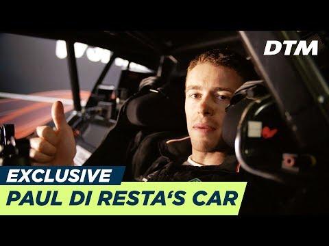 Paul Di Resta shows his office  - Mercedes-AMG C63 DTM - DTM Exclusive
