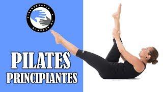 Pilates para principiantes, clase de iniciacion impartida por un fisioterapeuta