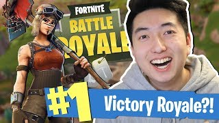 I'M GETTING BETTER?! (FORTNITE BATTLE ROYALE) - New Fortnite BR Minigun Gameplay