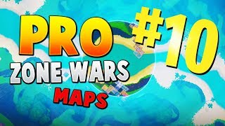 TOP 10 BEST PRO PLAYER ZONE WARS MAPS WITH CODES IN SEASON 9 | Fortnite Storm Wars Map CODES
