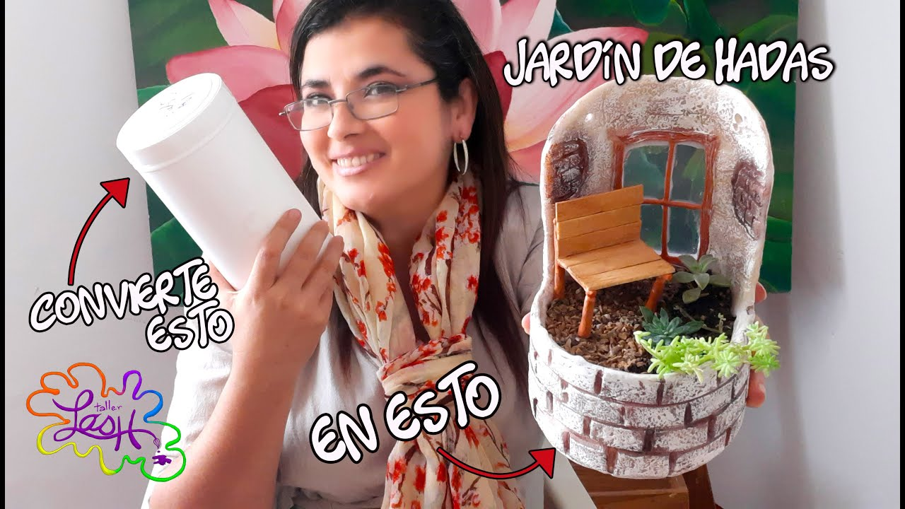 Balcon (Fairy garden)/#RetoEntreAmigas/ Porcelanafria,arcillapolimerica o porcelanicrom|Taller Lash