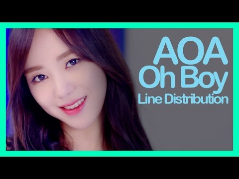[Line Distribution] AOA - Oh Boy