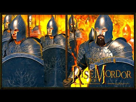Gondor In Flames! - Lord Of The Rings - Rise Of Mordor Total War
