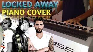 R. City - Locked Away ft. Adam Levine (Piano Cover) || Melron Music