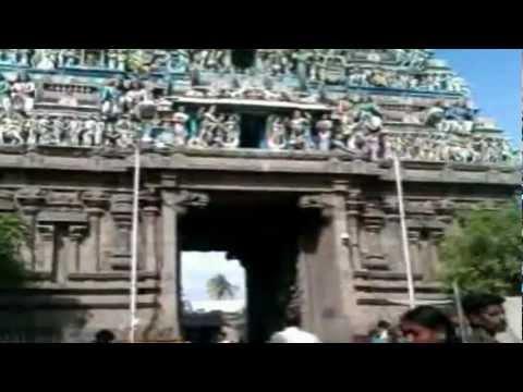 Kapaleeswarar Temple Entrance Gate, Mylapore, Chennai : Indian Temple : India Travel & Tours Video