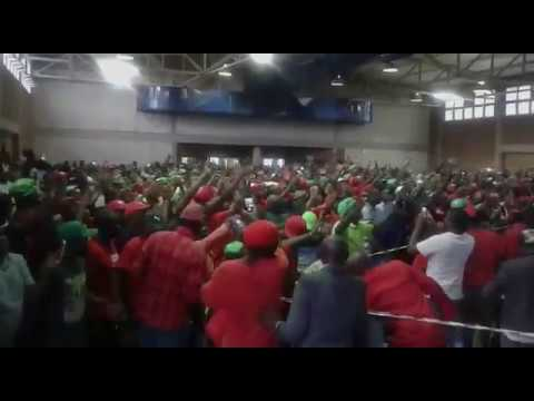 Chamisa Rally in South Africa