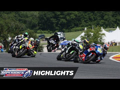 Supersport Race 1 Highlights at Road America 2