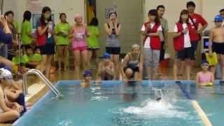 秀朗國小歌仔戲班第10屆2013.10.9秋季游泳比賽於榮富國小季軍
