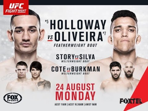 Holloway vs Oliviera