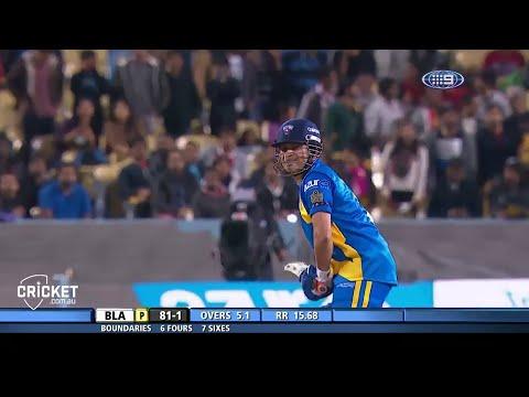 Sachin Tendulkar 56 runs off 27 balls vs Warne's Warriors 15th November Sunday 2015 (HD)