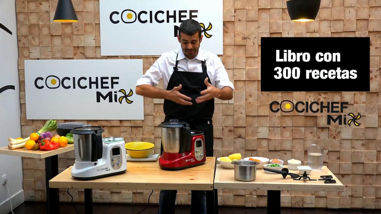 Robot de cocina cocichef mix youtube - Robot de cocina cocichef ...