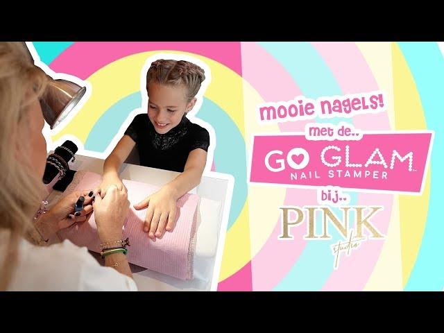 Go Glam Salon Party: Eindelijk mooie nagels met de GO GLAM NAILSTAMPER | Djenna's Vlog #71
